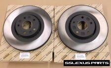 Lexus IS350 (2014-2016) (RWD) (F Sport) OEM Genuine FRONT BRAKE ROTOR SET (x2)