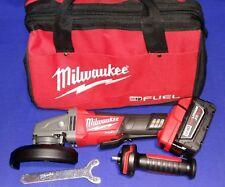 Milwaukee m18 FUEL smerigliatrice 2780-20 18v 127mm + Batteria da 5.0Ah e Borsa