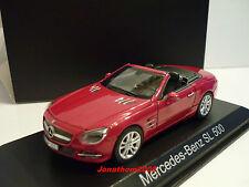 NOREV 351340 MERCEDES-BENZ  SL 500 2012 RED METALLIC au 1/43°