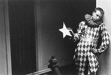 Duane MICHALS: Harlequinn, 1985 / Silver print / SIGNED