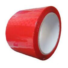 6 ROTOLI rosso colorato Imballaggio Nastro particella (WIRQUIN 48mm x 66m) Gratis P&P