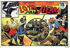 Zorro collana Sparviero ristampa completa di 26 albi