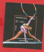Rhythmische Sportgymnastik Panamerikanische Sportspiele Block174 Nicaragua