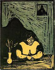 Edvard Munch Prints: The Fat Whore - Fine Art Print