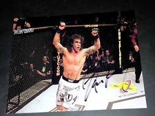 "CLAY ""THE CARPENTER"" GUIDA PP SIGNED 10""X8"" PHOTO REPRO UFC MMA"