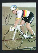 Kathrin Meinke signed autograph auto 4x6 Small Photo / Postcard