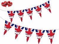 Vote Labour Campaign Union Jack Theme Bunting Banner party decoration Ballot UK