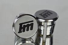 new Francesco Moser FM Handlebar End Plugs Bar End Caps endstopfen lenkerstopfen