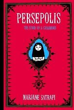 Persepolis: The Story of a Childhood by Satrapi, Marjane 9780375714573