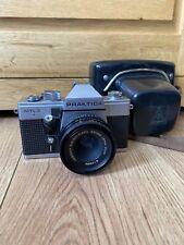 Praktica MTL 3 SLR Film Camera With Carl Zeiss Tessar 2.8/50 Jena DDR Lens.