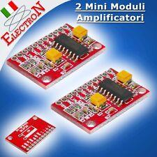 2x Mini Modulo Amplificatore Audio Stereo Digitale 3W + 3W  2x3W  5V PAM8403 MP3