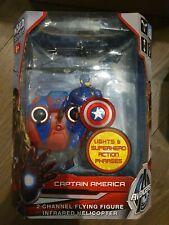 Avengers Captain America ferngesteuerte fliegende Spielzeugfigur, NEU, OVP