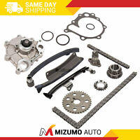 Timing Chain Kit Water Pump Fit 90-95 Toyota Previa 2.4L DOHC 2TZFE