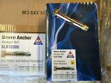 More details for anchor bolts for pallet racking 12mm x 75mm sleeved bolts floor fixings