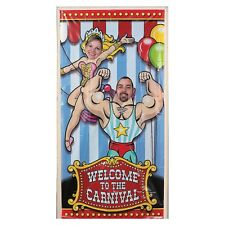BIG TOP CIRCUS CARNIVAL PARTY PHOTO DOOR BANNER POSTER SIGN DECORATION