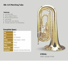 Tama by Kanstul KTB34L Marching 3/4 Tuba in Lacquer, New Old Stock