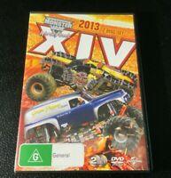 Monster Jam - World Finals XIV (DVD, 2014, 2-Disc Set)