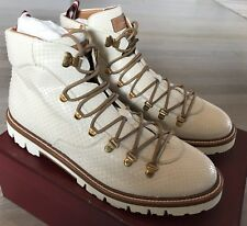 2,000$ Bally Real Python Hiker Boots Size US 9.5 Made in Switzerland