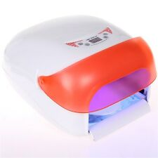 36W UV Lamp Light Gel Curing Timer Nail Dryer + Full Nail kit set + FREE Gifts O