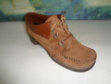 Vintage Fanfares brown leather shoes 7.5N