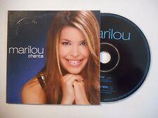 MARILOU : CHANTE ♦ CD SINGLE PORT GRATUIT ♦