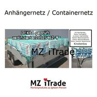 Anhängernetz Containernetz Knotenlos Dekra geprüft 250x400 2,5x 4,0 2,5 x 4 45 6