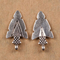 50pcs 19mm Love arrow Charms Tibet Silver DIY Jewelry Pendant Bails S144