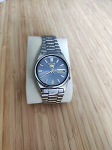 Orologio Vintage Seiko 5 Automatico 21 Jewels Cal.7009A Day Date da Uomo.