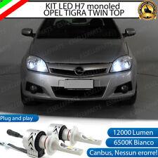 Per Opel Tigra Twintop 2004-2009 Lato Low 501 H7 Lampadine Faro Anteriore