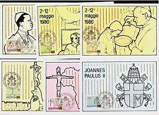 Papa Giovanni Paolo II. mi.no.792-802, 9 maximum CARDS!!!