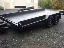 14ft Car trailer Tandem