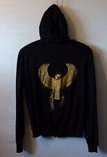 AMERICAN APPAREL fine hoodie Native Eagle unisex UK L 12 14 US M 10 12 EU 40 42