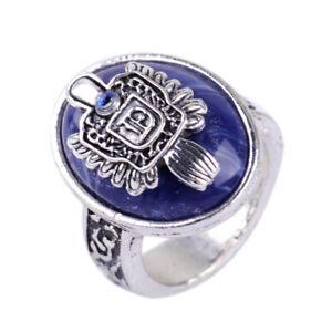 Fashion The Vampire Diaries Damon Finger Family Crest Vintage Ring Diameter Lou