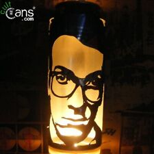Elvis Costello Beer Can Lantern! Pop Art Candle Lamp, Punk, The Attractions