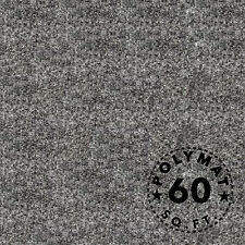 16FT x 3.75FT Charcoal speaker woofer box backed Polymat carpet