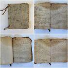 Antique 1900s Handwritten Recipes Book Victorian Receipts Cookery cook Notebook