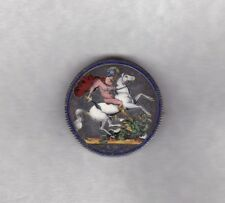 1821 GEORGE IIII CROWN ENAMELLED WITH SEVEN COLOURS