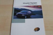 135341) Chrysler Voyager Family 2.0 Prospekt 03/1998