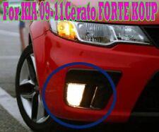(Fits: KIA 2009-11 Cerato FORTE KOUP) OEM Fog Lights Lamp Assembly + Wiring SET