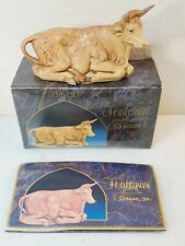 """Fontanini by Roman 5"""" Ox Nativity 54016 The Centennial Collection w/ Booklet"""