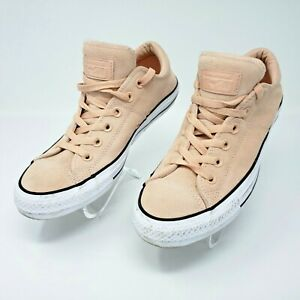 Converse CTAS Madison Ox Suede Womens Dust Pink/White Shoes Size 9