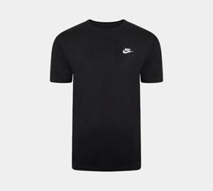 Nike Men's T-Shirt Athletic Active Wear Crew Neck Swoosh Logo