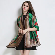 2017 New Fashion Women's Big Shawl Scarf Soft Silk-Chiffon Scarves Hijab Wrap