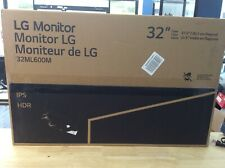 "LG 32ML600M-B 32"" Inch Full HD IPS LED Monitor with HDR 10 - Black"