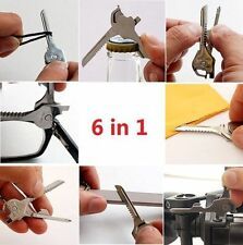 6-in-1 Multi-Tool Survival Key Knife Fast Free Shipping
