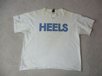 VINTAGE Nike North Carolina Tar Heels Shirt Adult Extra Large Basketball 90s *