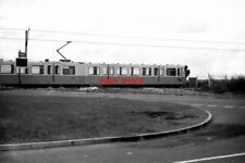 PHOTO  1976 TYNE & WEAR METRO TEST TRACK THIS SHOWS THE CAR NO 4001 AT THE LEVEL