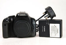 Canon EOS 550D DSLR Camera Body Only - 1080p HD Video Canon Battery & Charger VG