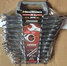 Gearwrench 85098 12 Piece Metric Gearwrench Xl Set 8Mm-19Mm