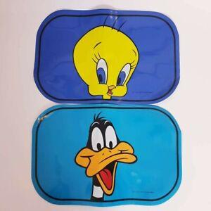 Warner Bros Looney Tunes Daffy Duck & Tweety Bird Vintage Placemats 1995